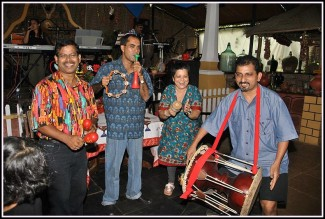 Nostalgia restaurant world music day at goa (3)